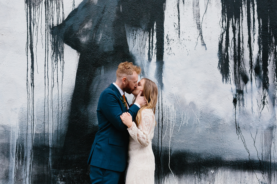 Emma & Dan's Creative East London Wedding