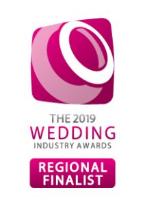 The Wedding Industry Awards 2019 Regional Finalist Logo