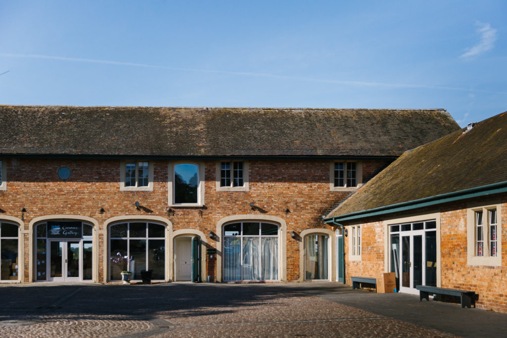 Exterior of The Stable Yard at Doddington Hall