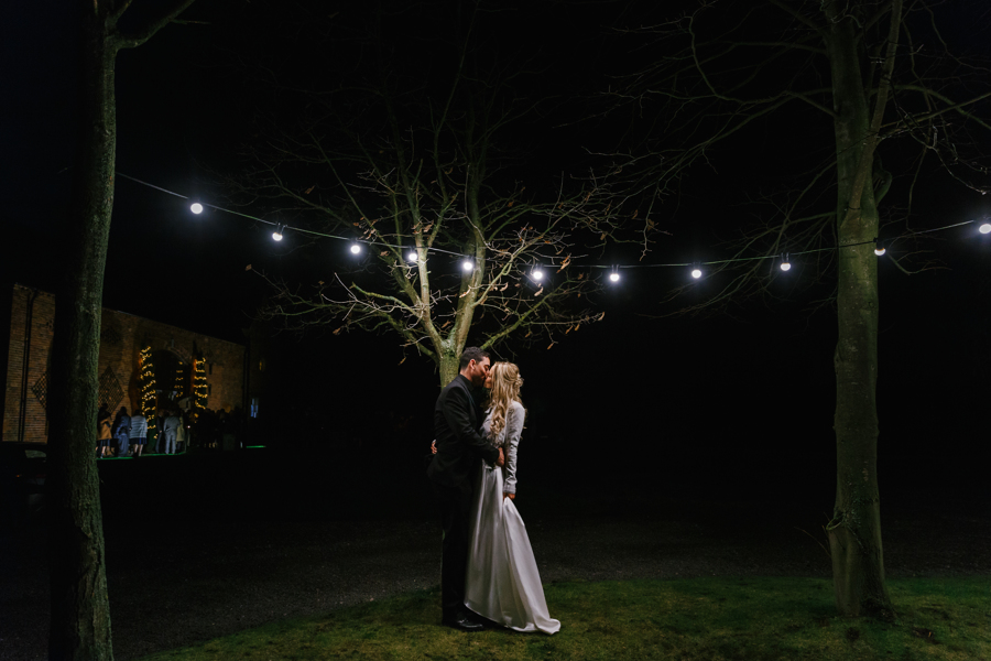 Zoe + Sharif | Christmas Wedding at Shustoke Barn, Warwickshire